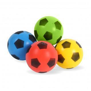 Conjunto de 4 balões de cores sortidas 17,5 cm Sporti France