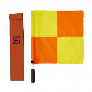 Bandeira lateral quadriculada
