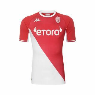 Camisa de casa autêntica AS Monaco 2021/22