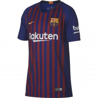 Camisa da criança do lar de Barcelona 2018/2019