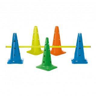 Cone 40 cm - 12 furos - com entalhe de tremor