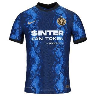 Camisa de casa autêntica Inter Milan 2021/22