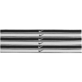 Pacote de 6 elásticos capilares Nike Swoosh tipped
