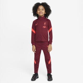 Fato de treino para crianças Liverpool FC Dynamic Fit Strike 2021/22