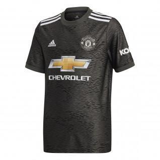 Camisola para crianças ao ar livre Manchester United 2020/21
