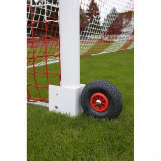 Rodas de golo de futebol transportáveis de 11 voltas com remate potente