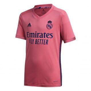 Camisola para crianças ao ar livre Real Madrid 2020/21