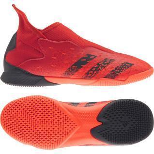 Sapatos de criança adidas Predator Freak.3 Laceless Indoor