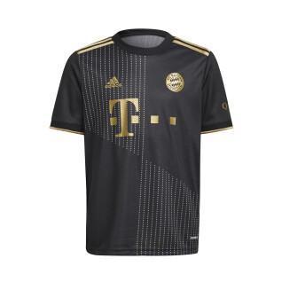 Camisola para crianças ao ar livre Bayern Munich 2021/22