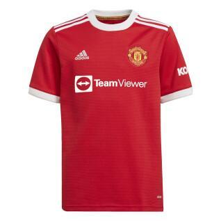 Camisola para crianças Manchester United 2021/22