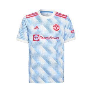 Camisola para crianças ao ar livre Manchester United 2021/22