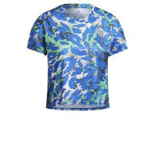 Camiseta feminina adidas Primeblue Fast Graphic