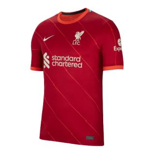 Camisa de casa autêntica Liverpool FC 2021/22