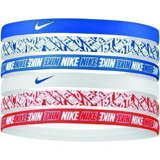 Conjunto de 6 bandas de cabeça Nike
