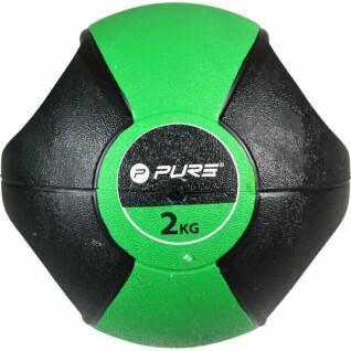 Bola de medicina Pure2Improve handles 2Kg