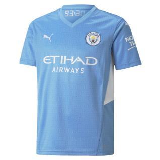 Camisola para crianças Manchester City 2021/22