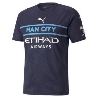 Terceira camisola Manchester City 2021/22