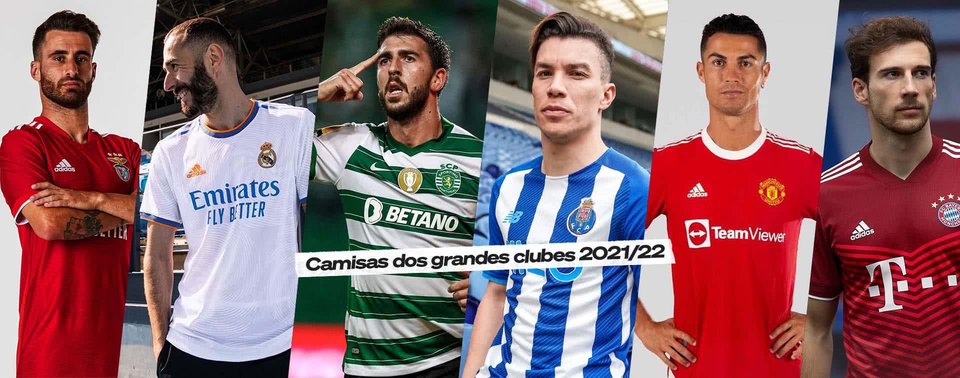 Camisolas 2021/22